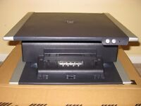 Dell Docking Station D-Port Replicator with Monitor Stand 0HD026 PD01X Latitude Precision Inspiron