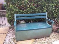 Storage Garden Bench
