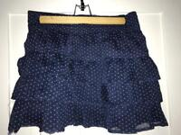Hollister summer skirt size 8-12