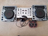 Complete professional DJ Setup including software and midi Control