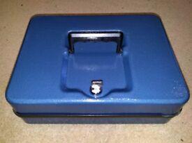 Blue Helix Cash Box.