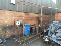 Car tyres metal rack stand 2 avalible collect lochgelly