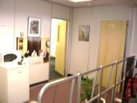 Self Contained Unit comprising of 6 offices. Lobby, Ladies, Mens Toilet. Total area approx 1,200sqft