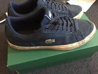 Size 8 Lacoste Trainers