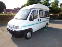 Peugeot Holdsworth Minuet Deluxe Camper, Motorhome For Sale, S History, Superb and Only 4.6m long