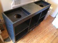 DJ Turntable Deck Table / Stand Technics sl 1200 / 1210