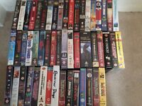 Loads of videos, five pounds for the lot.