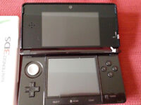 Read full ad and pics Nintendo 3ds console with missing right top hinge , in perfect working order