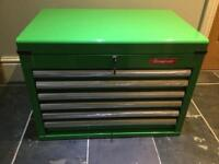 New Halfords Industrial 6 draw tool chest New Halfords Industrial 6 draw tool chest .