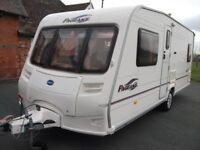 Bailey bordeaux fixed bed 4 berth caravan,awning etc, nice layout, bargain