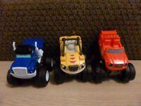 Blaze trucks