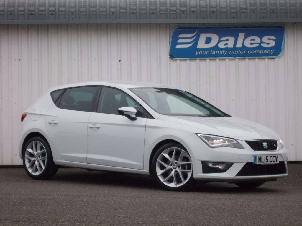 seat leon 1 4 tsi act 150 fr 5dr technology pack hatchback nevada white 2015 in newquay. Black Bedroom Furniture Sets. Home Design Ideas