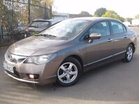 HONDA CIVIC 1.3 IMA HYBRID ELECTRIC AUTOMATIC **** PCO UBER ACCEPTED **** 5 DOOR HATCHBACK