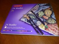 Derwent 24 studio colour pencils