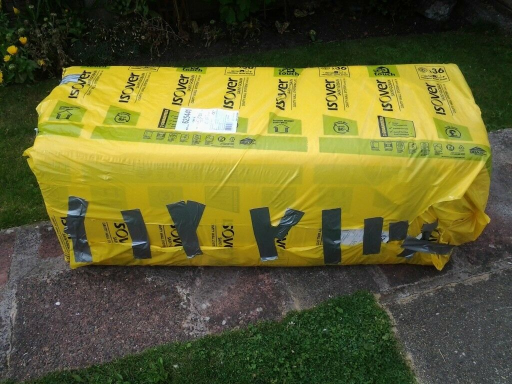 3/4 pack of Isover 50 mm cavity wall insulation slabs | in Blackpool ...