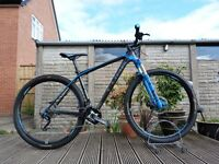 "2013 Cube Reaction PRO Carbon 29er HardTail Mountain XC Bike 19"" Large Frame Remote Lockout 20 Spd"