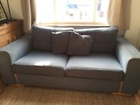 Free Sofa (blue) - Collection from Knighton Fields