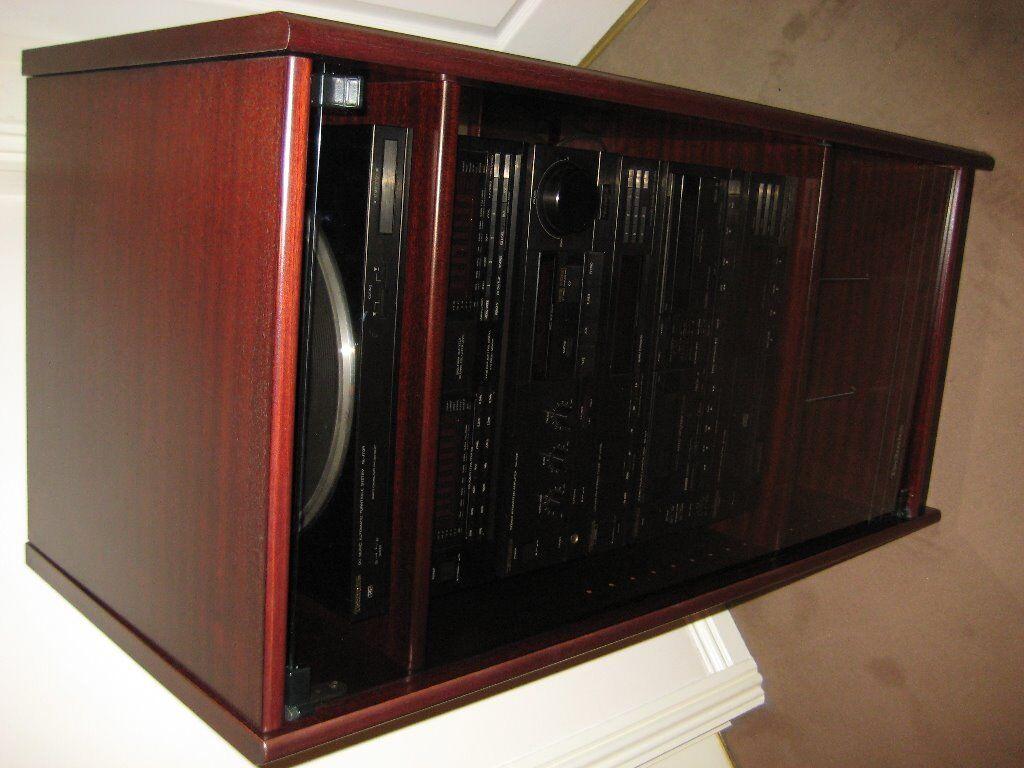 Technics Audio System 6 Seperate Audio ponents plus