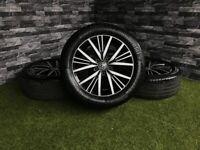 """16"""" Genuine VW Linas Alloy Wheels Golf Caddy Passat 5x112 MK7.5 MK7 MK6 MK5 ALLOYS GT TDI GTD"""
