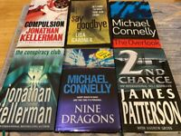 Crime Books from Kellerman, Gardner, Connelly, Patterson