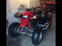 Road legal Yamaha blaster yfs 200 quad