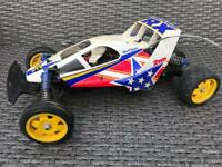Vintage Tamiya Fighter Buggy RX RC Radio Control Buggy