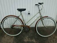Triumph Traffic Master Ladies Bicycle For Sale in Good Working Order
