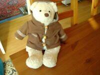 CUTE LITTLE TEDDY BEAR 15 INS HIGH