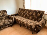 Sofa bed settees very good condition