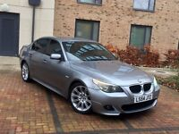 BMW 525d SPORT AUTO MET GREY BLACK SPORT LEATHER 148,000 MIL F/SERVICE/H