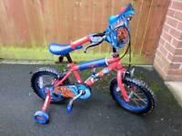 """Ultimate Spiderman Kids Bike - 14"""" Wheel"""