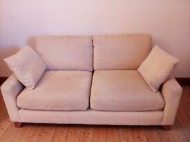 Large fabric sofa ex Marks & Spencer