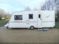 Coachman Pastiche 520/4. 2006. Excellent Condition including Motor Mover.