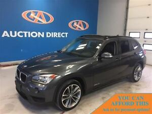 2013 BMW X1 xDrive35i SPORT! SUNROOF! NAVI! FINANCE NOW!