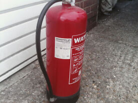 FIRE EXTINGUISHER 9 litre WATER NEW SEALD £22 ovno