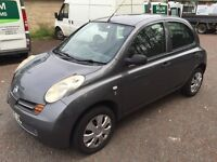 Nissan micra 1.5 diesel 54 plate low mileage only 75000cheap car
