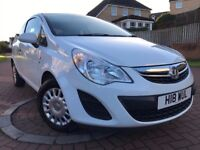 *12 MONTHS MOT*2012(12)VAUXHALL CORSA 1.0 ECO FLEX 3DR WITH ONLY 36,000 MILES*2 KEYS*1 OWNER CAR*