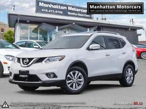 2014 NISSAN ROGUE 2.5 SV AWD |NAV|360CAMERA|BLINDSPOT|PANO|7PASS