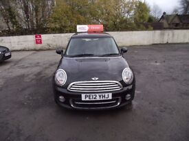 2012 Mini Cooper D Chili, 2 owners from new full service history, Fantastic car to drive. warranty.