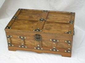 Medieval Style Small Wood Chest