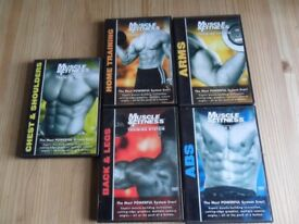 Complete Muscle and Fitness Training system. 5 DVD's.