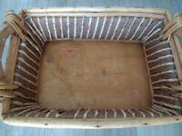 Small Wicker Basket for sale