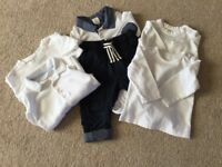 Baby boys clothes. 6 items. 3-6 months. Excellent condition, hardly used