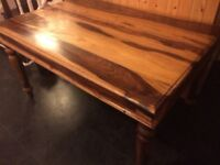 Dining table, 36inches wide x 54 inches long