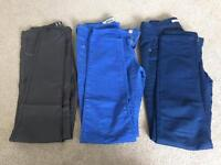 10 pairs of ladies jeans size 10