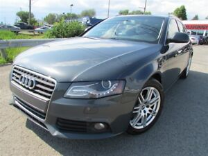2009 Audi A4 2.0T AWD A/C CRUISE BLUETOOTH TOIT OUVRANT!!!