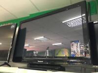 """Panasonic 42"""" viera TV with remote"""