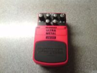 Behringer distortion pedal £15 cash
