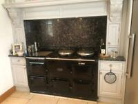 Aga 4 oven and hot plate cooker