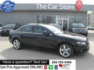 2012 Audi A4 2.0T Premium LEATHER SUNROOF, AWD